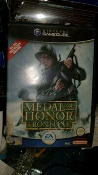 Medal of honor Frontline spill Nintendo gamecube 6250 km