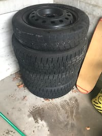 3 fully inflated used tires in pristine condition and 1 spare tire. 195/65R15 Washington, 20017