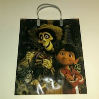 "12.5"" Disney Coco gift bag, holiday present bag Orange, 92866"
