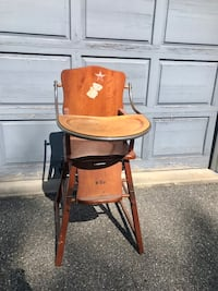 Antique baby high chair (1940's)