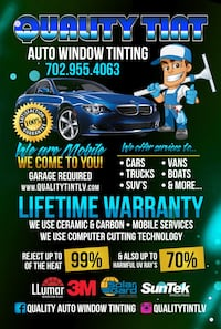 Mobile window tint computer cutting system  Henderson, 89074