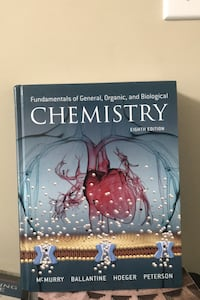 Fundamentals of General, Organic and Biology Chemistry 8th edition
