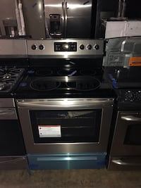 Brand New Frigidaire stainless steel electric stove 6 months warranty