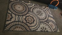 white, black, and gray area rug Columbus, 43223