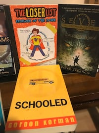 BOOKS - school reading - various authord