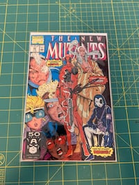 New mutants 98(first appearance of Deadpool) signed copy Toronto, M1T 3J4