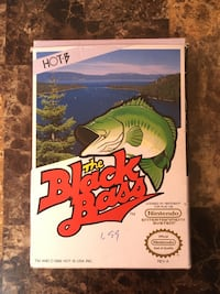 NES Nintendo Black Bass Conplete Boxed