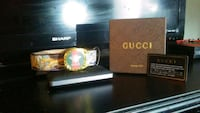 New style Gucci belt with box & card.  London, N6J