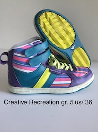 "Souliers,,Creative Recreation""BROSSARD 25 $ chaque/Excellent condition Brossard, J4Y 3E1"