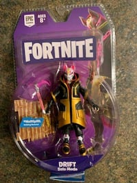 Drift and carbine fortnite action figures