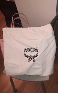 Brand new pink MCM bag New York
