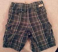 blue and white plaid shorts Fort Lee, 07024