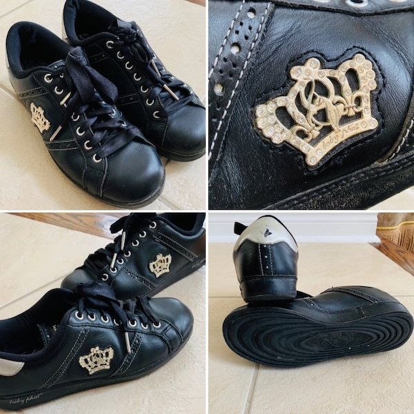 100% LEATHER running sneakers