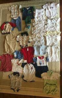 Baby boy clothing newborn and up