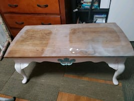 Project coffee table - real wood