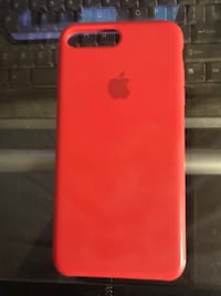 Red silicone iPhone 7 Plus case St Catharines, L2M 3M7