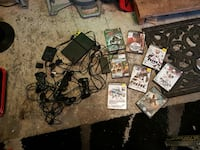 Ps2 with 8 games and extras  Kamloops, V2B 4P6