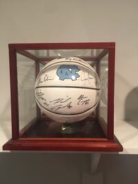 NCAA UNC signed Ball  Jacksonville, 28540