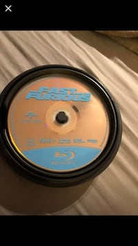 Fast N Furious DVD wheel set