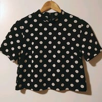 Polka dot crop top Toronto, M2N 5M9