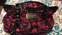 Black and pink betseyville purse