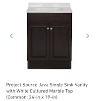 "Bathroom vanity combo new 24"" Bellflower, 90706"
