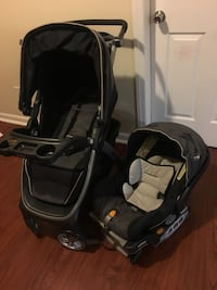 baby's black and gray travel system Newark, 07112