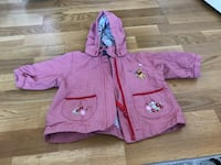 rosa zip-up regnrock Eskilstuna, 632 25