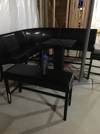 Black counter height square wood table Omaha, 68135