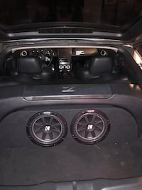 """Kicker comp c 10"""" subs and 1200w amp"""