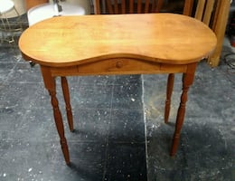 Solid Pine Side Table / Hall Table / Vanity