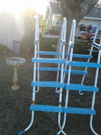 white and blue step ladders Mary Esther, 32569