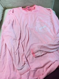 Pink scoop-neck long-sleeved shirt Manito, 61546