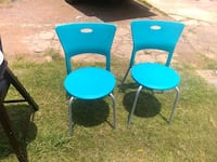 2 adult chairs