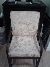 white and gray floral padded armchair Glendale, 91201