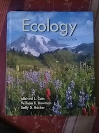 Ecology 3rd edition by Michael L. Cain book