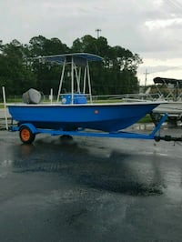 """Blue and White 18""""8 Boat Jacksonville, 32207"""