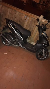 black and gray motor scooter Washington, 20011