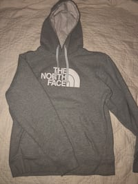 gray and white The North Face pullover hoodie Joint Base Lewis-McChord, 98433