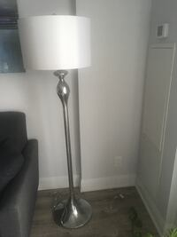 White-and-gray floor lamp Vaughan, L4L 1T5