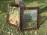 Antique pair of picture frames holds 16x20 picture, (**make an offer) Rotterdam, 12306