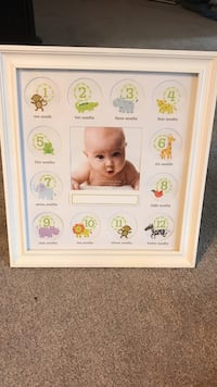 Baby picture frame by months  Nunda, 14836
