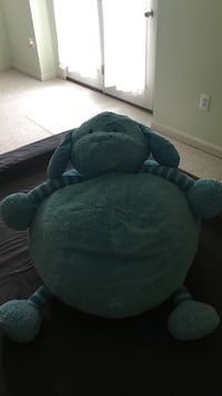blue animal plush toy beanbagchair Gaithersburg, 20879