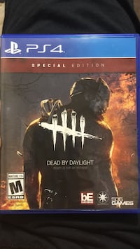 Dead by Daylight PS4 game case
