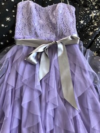 purple and white floral long-sleeved dress Oceanside, 92057