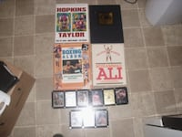 Ccassius Clay And boxing Items books Thornton