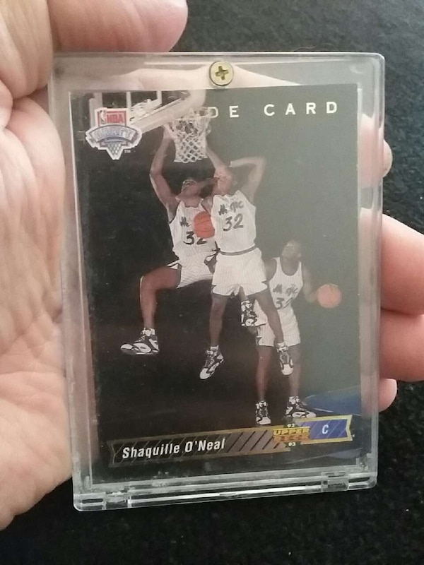 Shaquille Oneal Rookie Card 1993 Upper Deck