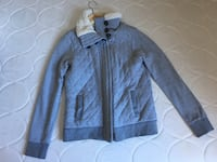 Women Gray zip-up jacket size small Montréal, H3H