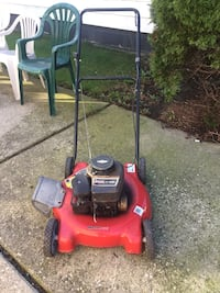 red and black push mower Eastpointe, 48021