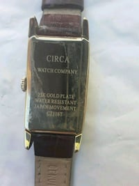 CIRCA 23KT GOLD PLATE WATCH  Las Vegas, 89178